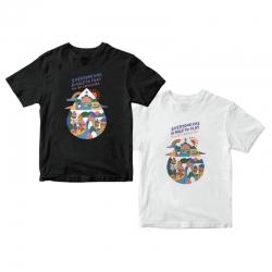 水滴世界志愿者T恤